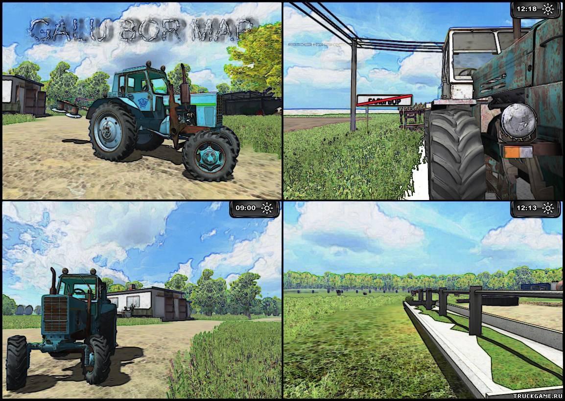 скачать мод для фермер симулятор 2015 на трос